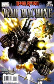 War Machine #1 (2008) Dark Reign Marvel comic book